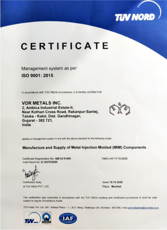 Iso certification -01